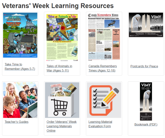 veterans-week-resources