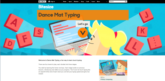 dance-mat-typing