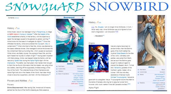 SNOWGUARD VS SNOWBIRD